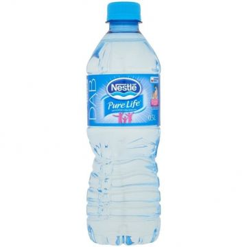 0.5L Nestle Pure Life Water bottle